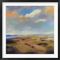Framed Sky and Land I