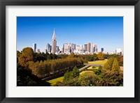 Framed Japan Tokyo Shinjuku District, Shinjuku Gyoen Garden