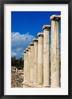 Framed Israel, Bet She'an National Park, Columns