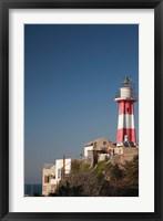 Framed Israel, Tel Aviv, Jaffa, Jaffa Old Port, lighthouse