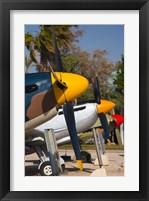 Framed Israel, Be-er Sheva, Air Force, Vintage Airplanes