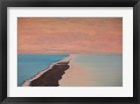 Framed Israel, Dead Sea, Ein Bokek, Dead Sea, dusk