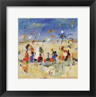 Framed Beach Play 2