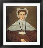 Framed Mrs. Pearce