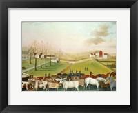 Framed Cornell Farm, 1848