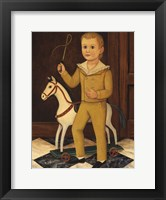 Framed Boy with Horse