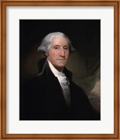 Framed Portrait of George Washington, 1795