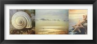Framed Coastal Triptych I