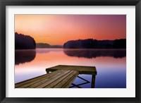 Framed Morning Stillness