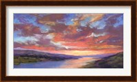 Framed Sunset Skies