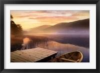 Framed Morning on the Lake