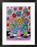 Framed Flower Girls