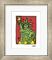 Framed Statue of Liberty, 1986