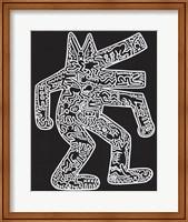 Framed Dog, 1985