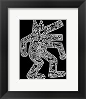 Framed Dog, 1985