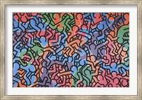 Framed Untitled, 1985 (figures)