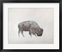 Framed Buffalo (left)