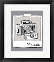 Framed Vintage