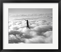 Framed Walk in the Clouds