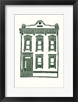 Framed Williamsburg Building 1 (Manhattan Ave. between Jackson and Withers)