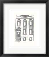 Framed Williamsburg Building 2 (199 Maujer Street)