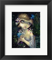 Framed Portrait of Ophelia