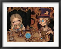 Framed Alice and the Mad Hatter