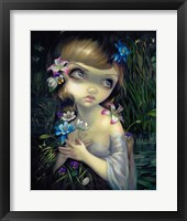 Framed Portrait of Ophelia