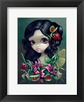Framed Carnivorous Bouquet Fairy
