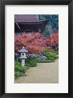 Framed Okochi Sanso Villa, Sagano, Arashiyama, Kyoto, Japan