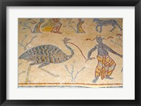 Framed Mosaics, Moses Memorial Church, Mount Nebo, East Bank Plateau, Jordan