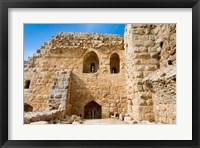 Framed Muslim military fort of Ajloun, Jordan