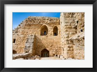 Framed Muslim military fort of Ajloun, Jordan