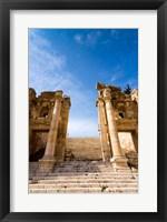 Framed Propilaeum of the Temple of Artemis, Jerash, Gerasa, Jordan