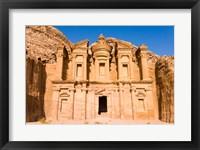 Framed Monastery or El Deir, Petra, UNESCO Heritage Site, Jordan