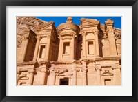 Framed Monastery or El Deir, Petra, UNESCO World Heritage Site, Jordan