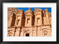 Framed Monastery or El Deir, Petra, UNESCO World Heritage Site, Jordan