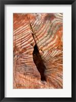 Framed Sandstone Rock Formations, Petra, Jordan