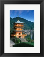 Framed Kumano Nachi Shrine, Katsuura, Wakayama, Japan