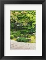 Framed Sennyuji Temple Garden, Kyoto, Japan