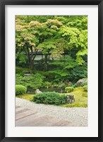 Framed Sennyuji Temple Garden, Kyoto, Japan