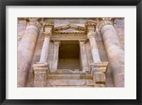 Framed Ancient Jerash Gate, Amman, Jordan