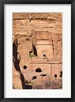 Framed Uneishu Tomb, Petra, Jordan