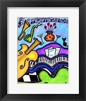 Framed Smooth Jazz