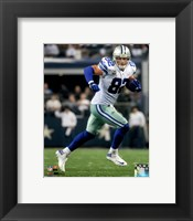Framed Jason Witten Running The Football