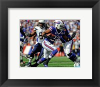 Framed Fred Jackson 2014 Action