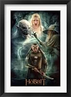 Framed Hobbit 3 - Collage