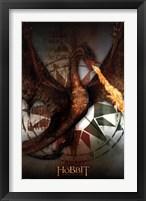 Framed Hobbit 3 - Smaug