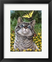 Framed Buttercup