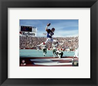 Framed Andre Reed 1990 Action